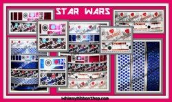7/8 USDR Star Wars INSPIRED Collections # 3 Grosgrain Ribbon